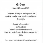 Grève du 19 mars 2019