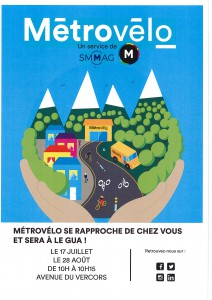 affiche Metrovelo